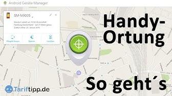 Handy-Ortung | So ortet Ihr Euer Android-Handy.