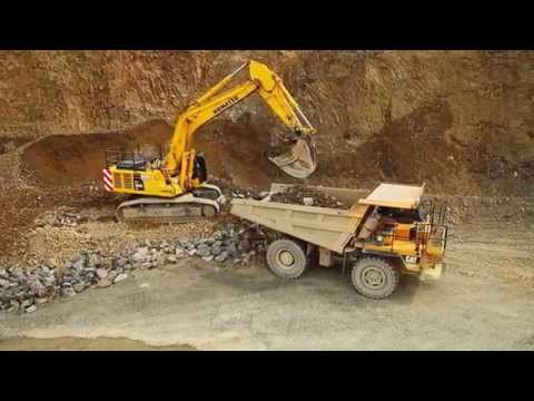 GoAerial: Aerial Drone Cinematography Heavy Machinery & Mineral Industry Show reel