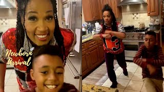 Kym Whitley Has A Dance Off With Her Son Joshua! 💃🏾🕺🏾