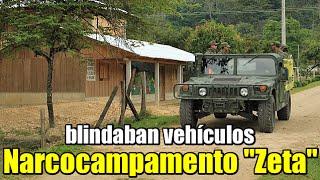 Desmantelan narcocampamento de 'Los Zetas' en Coahuila