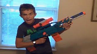 Nerf War! The Sniper