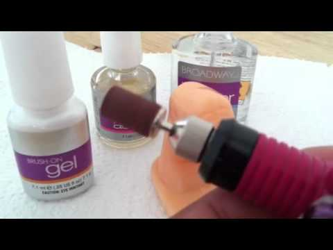 How to do gel nails without uv lamp