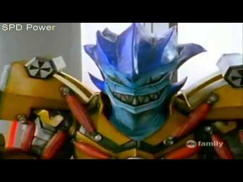Power Rangers SPD - S.W.A.T.  Mode