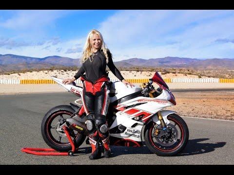Yamaha Girl Wallpaper Hd Almeria R6 2014 Racing Race Rr Crash Female Girl Youtube