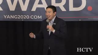 Hudson Town Hall with Andrew Yang  1-9-2020