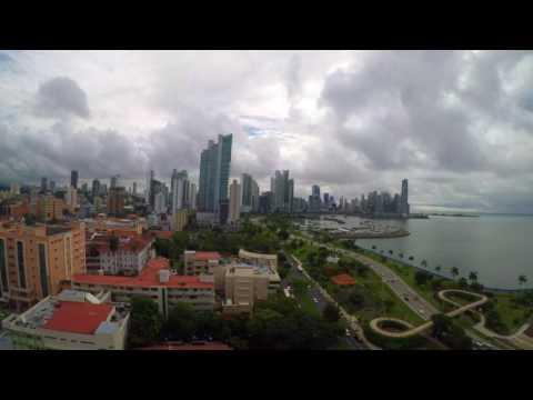 Panama city time lapse 2017