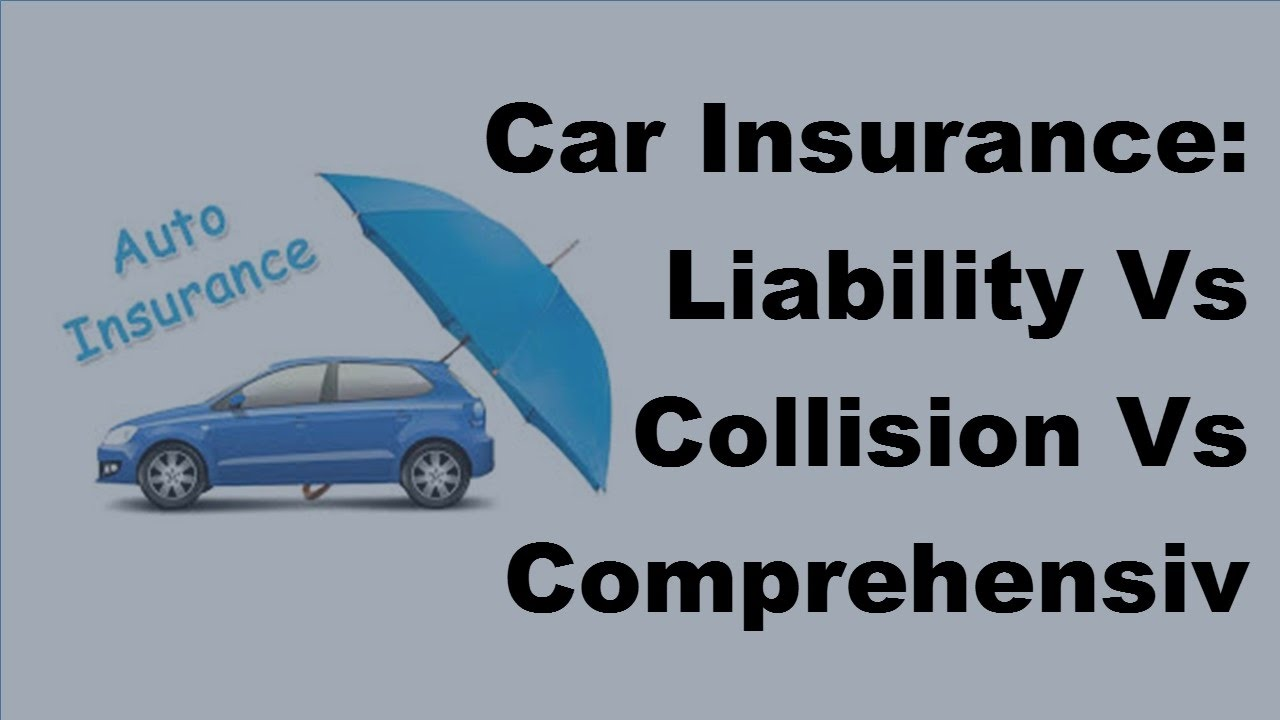 car insurance liability vs collision vs comprehensive coverage 2017 motor insurance tips youtube. Black Bedroom Furniture Sets. Home Design Ideas