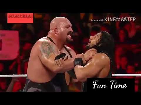 Roman Reigns VS Big Show ! Last Man Standing Match