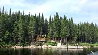 Chalet #6, lac Pikauba- réserve faunique des Laurentides