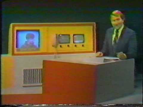 WSAZ television 3 Newscast Closing into NBC Nightly News; 1977.