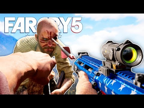 FAR CRY 5 Funny Moments Gameplay #3 - Exploding Arrows, Side Missions and Compound Bow Kills!