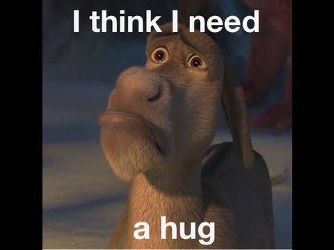 """Best Movie Scene - Shrek """"I can´t feel my toes. I think I need a hug!"""""""