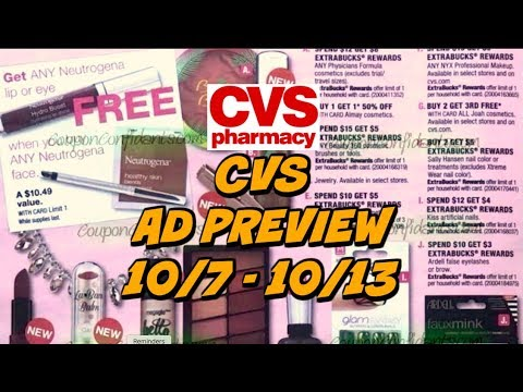 🔥EARLY CVS AD PREVIEW FOR 10/7 - 10/13 | LOTS OF DEALS!