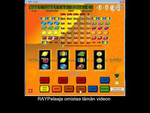 Ray Pelaamo - Luna LÄPITUPLAUS 2$- 32$