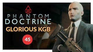Phantom Doctrine | ACTOR DISTRACTOR (KGB Lets Play) Gameplay Iron Man 45