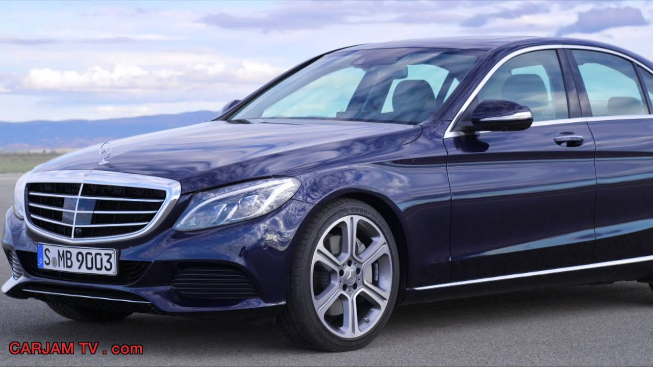 mercedes c class hybrid 2014 c300 in detail interior new w205 bluetec commercial hd carjam tv hd. Black Bedroom Furniture Sets. Home Design Ideas