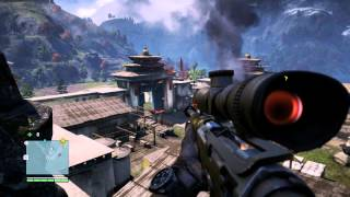 Far Cry 4 захват крепости Де Плера по стелсу