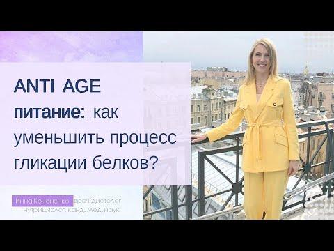 ANTI AGE питание: основы. Диетолог-нутрициолог Инна Кононенко. Вебинар. Часть 1.