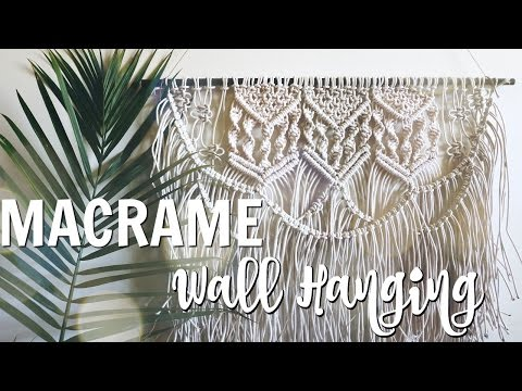 HOW TO: DIY Macrame Wall Hanging thumbnail