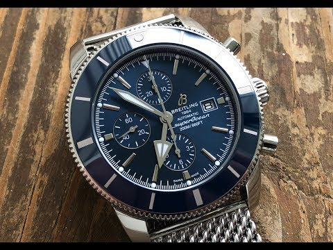 The Breitling SuperOcean Heritage II Chronograph: The Full Nick Shabazz Review