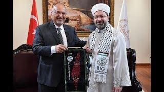 """Diyanet İşleri Başkanı Prof. Dr. Ali Erbaş, """"Filistin, her birimizin yüreğinin bir parçasıdır"""""""