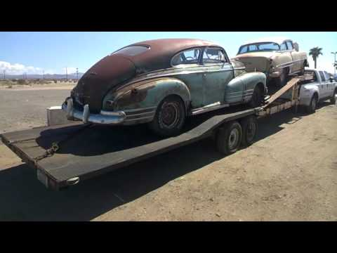 Barn Find Classic Old Cars ~ Restoration Project Cars