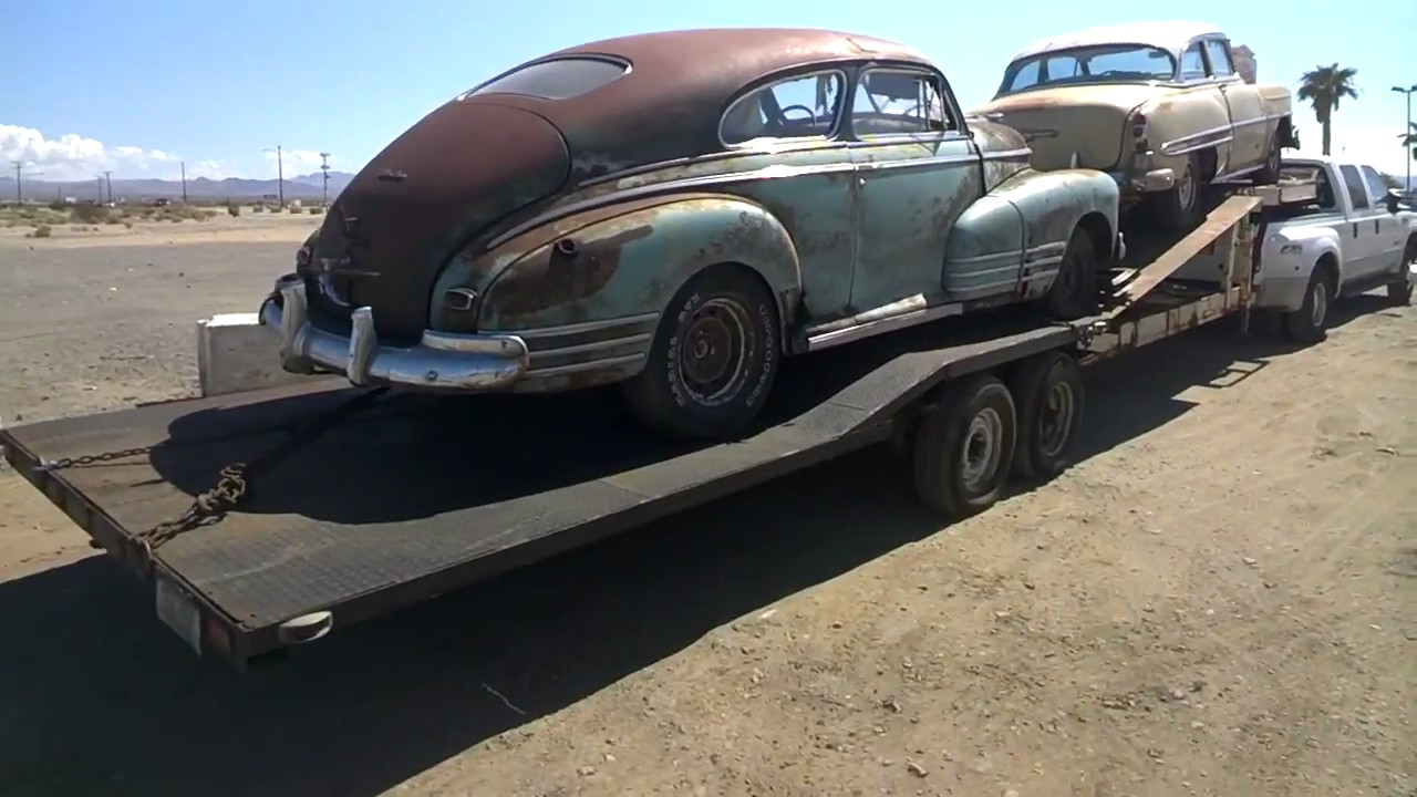 Barn Find Classic Old Cars ~ Restoration Project Cars - YouTube