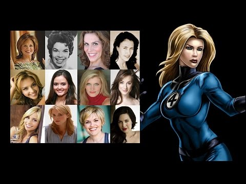 Comparing The Voices  Invisible Woman