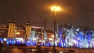 Москва 13.02.2014 г.Сталинская высотка на Кудринской площади у Баррикадной