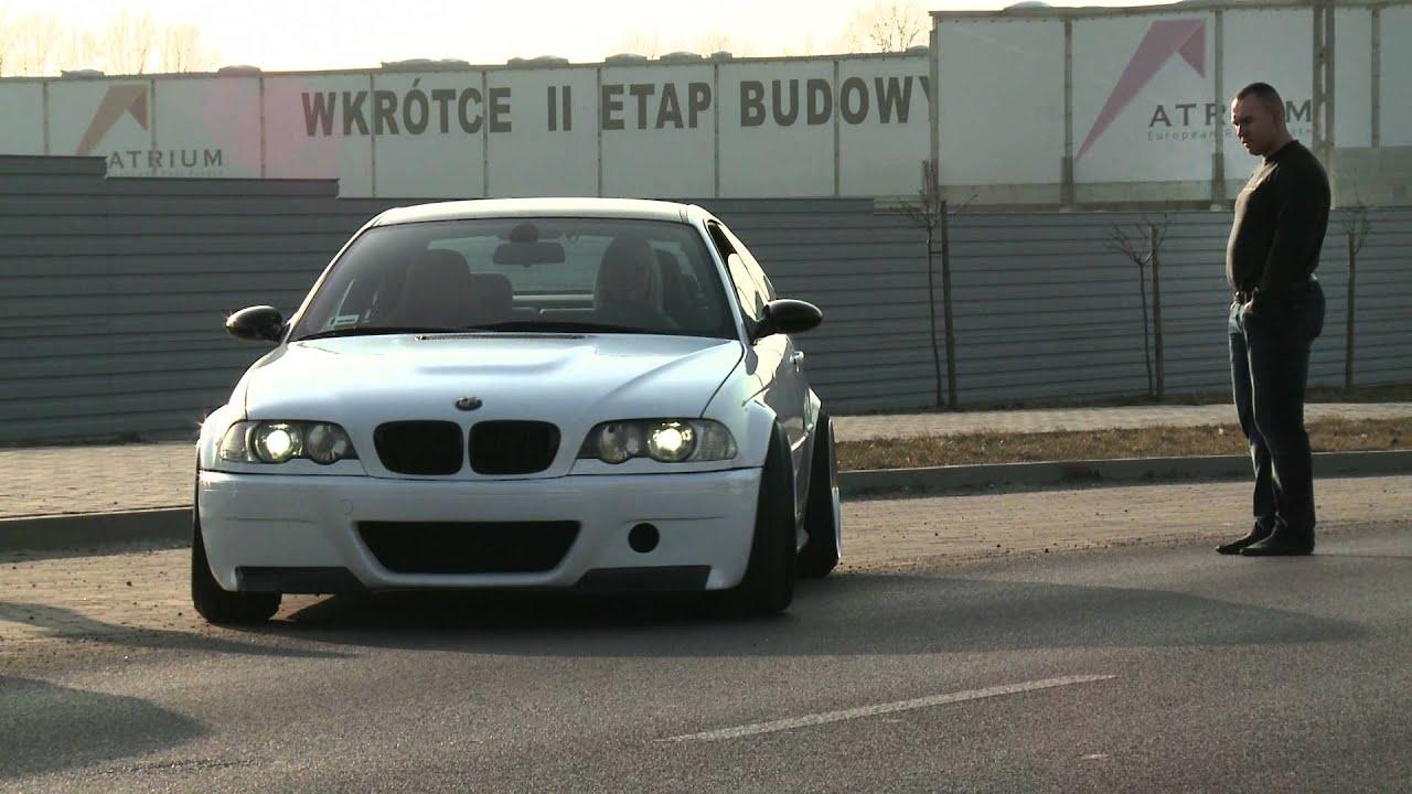 Bmw E46 S54b32 White Coupe By German