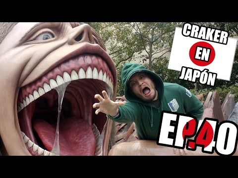 ATTACK ON TITAN | Universal Studios Japan | Craker en Japón