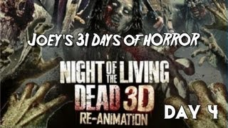 31 Days of Horror: Night of the Living Dead 3D: Re-Animation (2012)