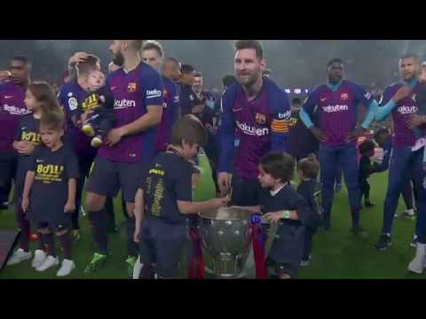 FC BARCELONA CHAMPIONS 18-19'