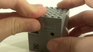 Lego Puzzle Box ~ Monochroma ~ Solve