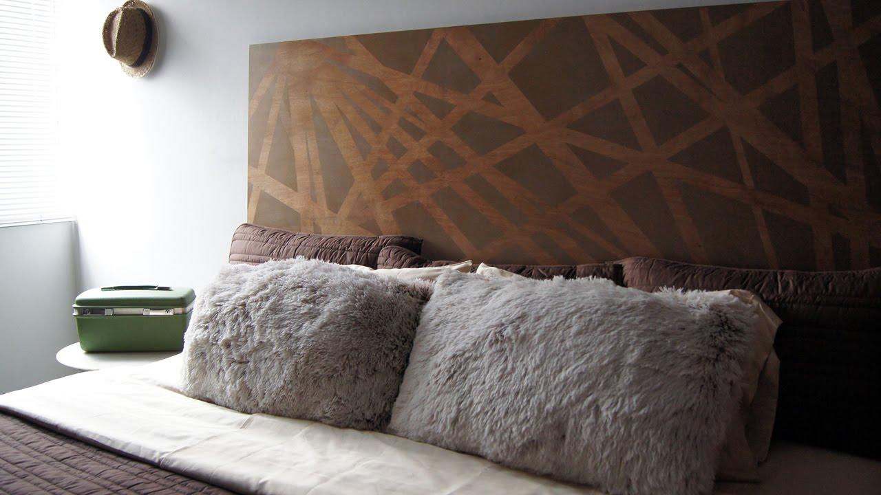 DIY Cmo hacer una cabecera moderna para tu dormitorio