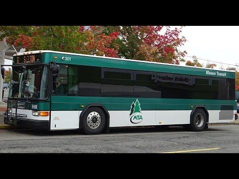101 w/ a GILLIG!!! Mason Transit 2007 Gillig Low Floor 35' 301 on Rt. 6