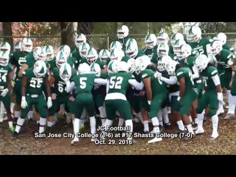No. 17 Shasta College blasts San Jose City 57-14