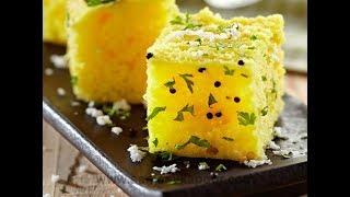 Dhokla Banane ki vidhi Cooker me in Hindi ! Soft and Spongy Dhokla ! Khaman Dhokla - Besan Dhokla