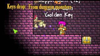 Terraria - Golden Key, quick guide