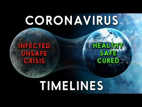 Coronavirus & Parallel Reality Timelines - A Guide To Staying Safe, Healthy & At Peace