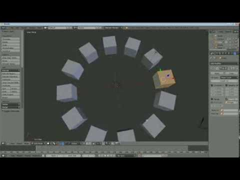 Sean's Blender Tutorial : Rotate Duplicate Around Object Using the Array  Modifier