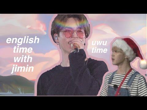 Jimin, English And Crack