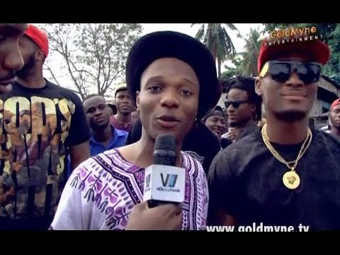WIZKID: 'Show Me The Money' Video Shoot [Behind The Scenes] (Nigerian Entertainment)
