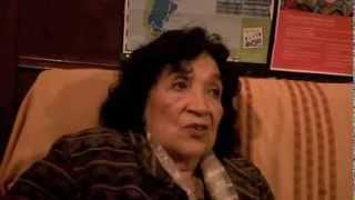 Norma Peralta en Mariposas de Madera