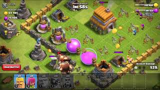 100 % loot first time in history clash of clans 2018
