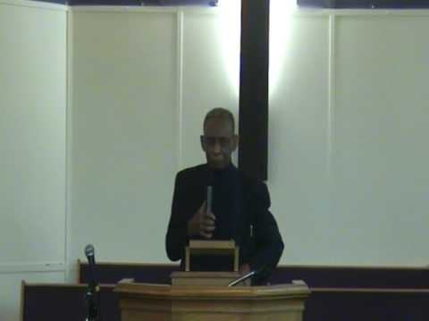 "Dr. Johnny James""The Wlaking Bible""...Clip On THE BLOOD OF JESUS"