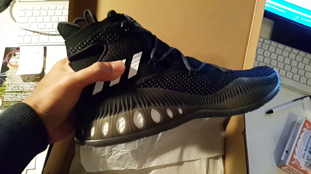 sports shoes 424b6 87249 Adidas crazy explosive primeknit unboxing