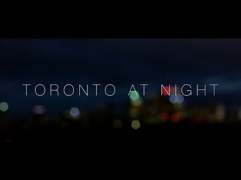 Toronto At Night - A night-time portrait of Toronto