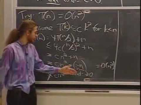 Lec 2 | MIT 6.046J / 18.410J Introduction to Algorithms (SMA 5503), Fall 2005