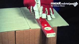 Erklärvideo: Wie funktioniert das Franken Maxit Mörtelpad?